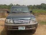 Photo Toyota Land Cruiser Prado 2001 Green