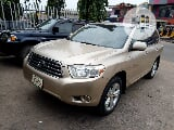Photo Toyota Highlander 2008 Limited 4X4 Gold