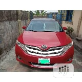 Photo Toyota Venza Le Awd V6 2013 Red