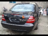 Photo Black mercedes benz c300 4matic 2012