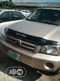 Photo Toyota Highlander 2005 4X4 Gold