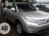 Photo Toyota Highlander 2011 Se Silver