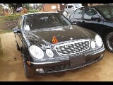 Photo Black mercedes benz e500 2005