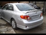 Photo Silver toyota corolla sport 2011