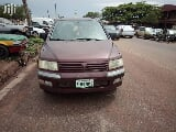 Photo Mitsubishi Spacewagon 2002 Red