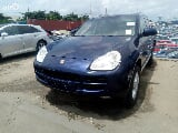Photo Porsche Cayenne 2004 Blue