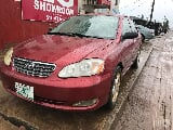 Photo Used Toyota Corolla 2006 Red