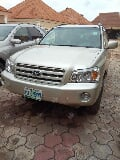 Photo Toyota Highlander 2003 Gold