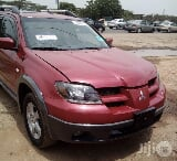 Photo Mitsubishi Outlander 2003 Red