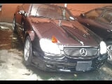 Photo Black mercedez benz c class 2001 at lagos nigeria