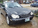 Photo Mercedes-Benz C230 2003 Black