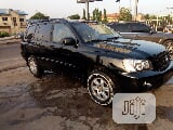 Photo Toyota Highlander 2003 Black