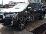 Photo 2019 Black Automatic Toyota Hilux