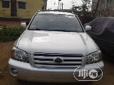 Photo Toyota Highlander 2005 Silver