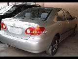 Photo Silver toyota corolla ce 2002