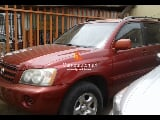 Photo Red toyota highlander 2002