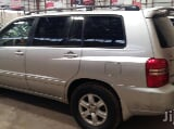 Photo Clean Toyota Highlander 2003 Silver