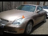 Photo Gold lexus sc430 2003