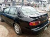 Photo Toyota Corolla 1.9 D Sedan 2000 Black