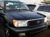 Photo Toyota Land Cruiser 2003 Black
