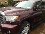 Photo Toyota Sequoia 2010 Red