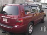 Photo Clean Toyota Highlander 2002 Red For Sale