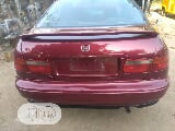 Photo Honda Accord Coupe 1999 Red