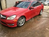 Photo 2010 Red Automatic Mercedes-Benz C300