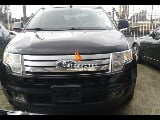 Photo Black ford edge limited edition 2008