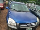 Photo Kia Sportage 2007 2.0 Lx Blue