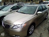 Photo Toyota Camry 2007 Gold