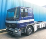 Photo 2005 Dark Blue Automatic Mercedes-Benz Actros