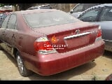 Photo Red toyota camry 2007