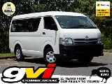 Photo Toyota, Hiace 10 Seat 4WD Belted Minibus No...