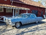 Foto Cadillac Fleetwood med lustgas 1964