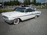 Foto Chevrolet Impala V8 283 Bubbletop 1961