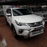 Photo Toyota Fortuner 2.8 GD-6 4x4 AT, White with...
