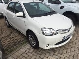 Photo 2014 Toyota Etios 1.5 Xs Sedan for sale!
