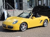 Photo Yellow Porsche Boxster 3.4 S with 68530km...