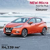 Photo 2019 nissan micra 900t acenta plus