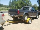 Photo Piggyback Car Trailer for hire /rent in PMB