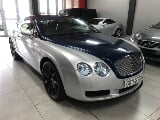 Photo Silver Bentley Continental GT with 94000km...