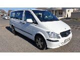 Photo White Mercedes-Benz Vito 116 CDI Crew Bus with...