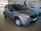 Photo 2010 Renault Sandero 1.6 United, Blue with...