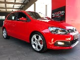 Photo Volkswagen Polo 1.4 TSI GTI DSG, Red with...
