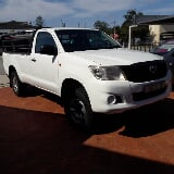 Photo Toyota Hilux 2.5 D-4D 4x4 SRX, White with...