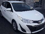 Photo White Toyota Yaris 1.5 Xi with 36900km...