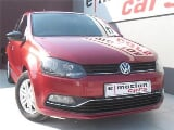 Photo Red Volkswagen Polo 1.2 TSI Trendline with...