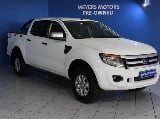 Photo Ford Ranger 2.2 D HP XLS 4x4 D/Cab, White with...
