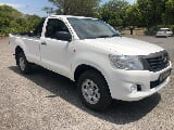 Photo White Toyota Hilux 2.5 d-4d 4x4 srx with...